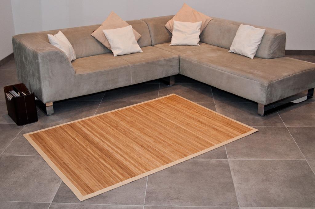 bambusteppich bambus teppich l ufer wohnzimmer vorleger ebay. Black Bedroom Furniture Sets. Home Design Ideas