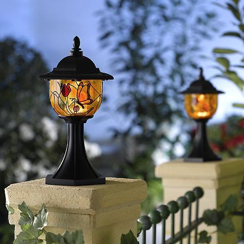 neu led leuchte nachtlicht lampe teelicht beleuchtung solar outdoor garten ebay. Black Bedroom Furniture Sets. Home Design Ideas