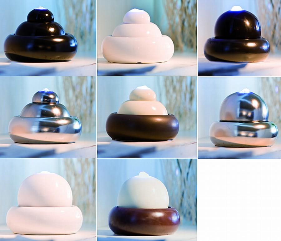 tischbrunnen trwa aadowanie zdjacia zimmerbrunnen led heissner zimmerspringbrunnen wasserspiel keramik kugel
