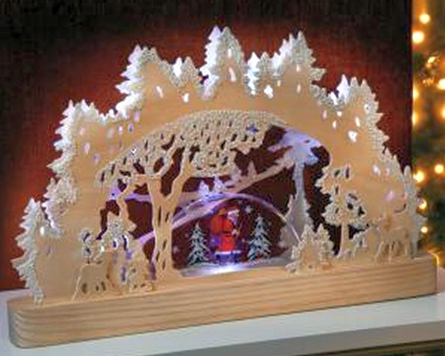schwibbogen holz lichterbogen weihnachtsdekoration. Black Bedroom Furniture Sets. Home Design Ideas