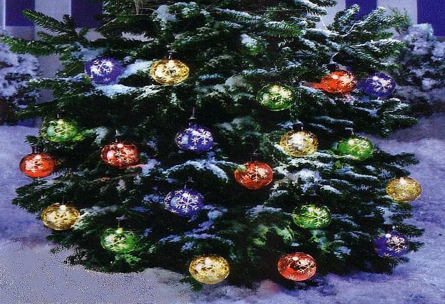 solar weihnachtskugeln christbaumkugeln weihnachtsbeleuchtung weihnachtsdeko neu. Black Bedroom Furniture Sets. Home Design Ideas