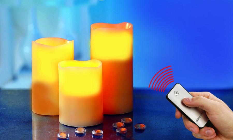 flammenlose led kerzen wachskerzen echtwachskerzen wachs. Black Bedroom Furniture Sets. Home Design Ideas